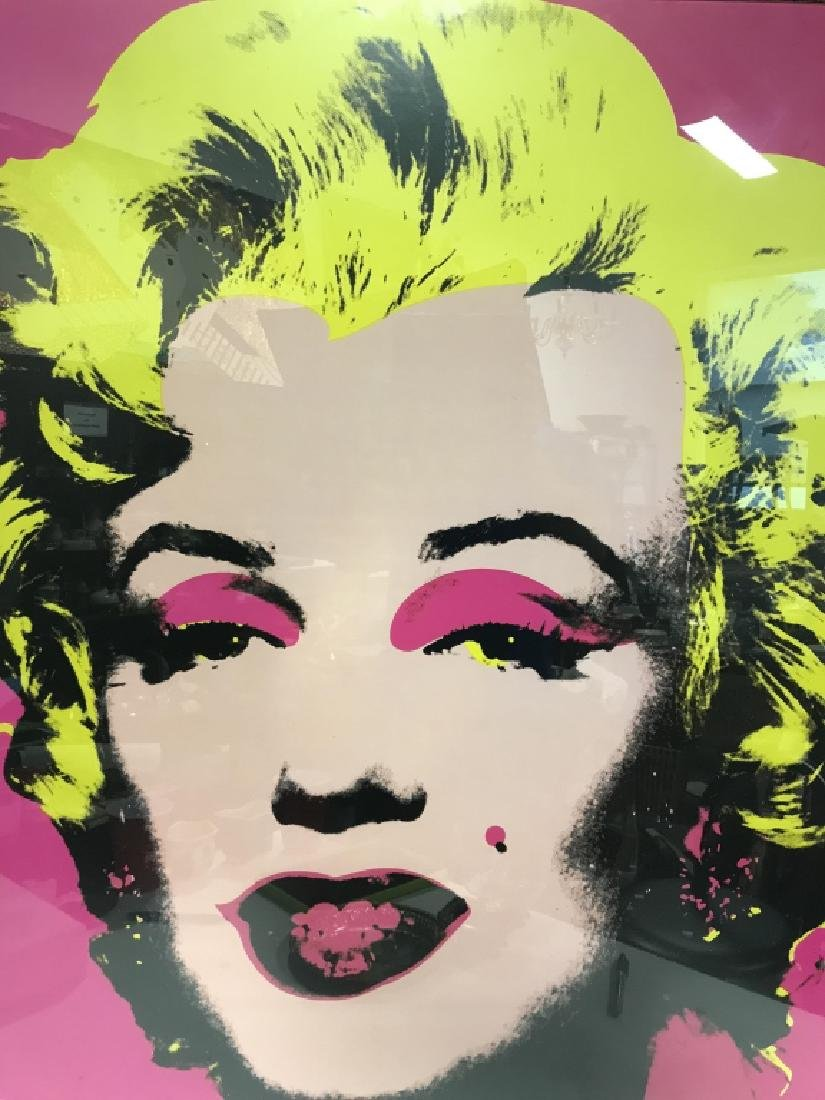 ANDY WORHOL Marylin Monroe Framed Print, 1967 - 2