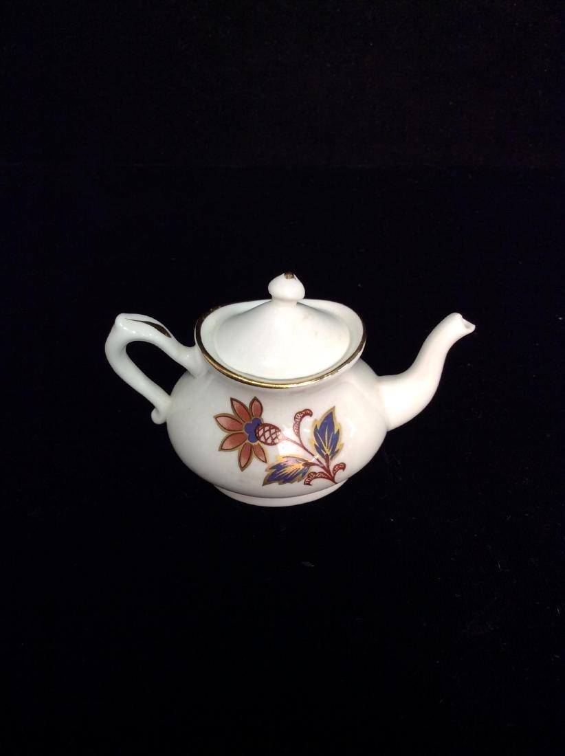 Set 8Vintage STAFFORDSHIRE Miniature Tea Set - 6