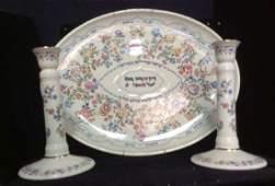 LENOX L'Chaim Judaic Porcelain Group Lot