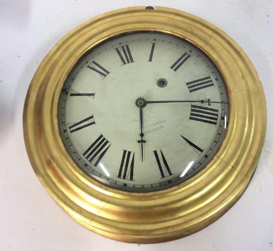 Gold Leafed E & A INGRAHAM BRISTOL Ltd Clock - 10