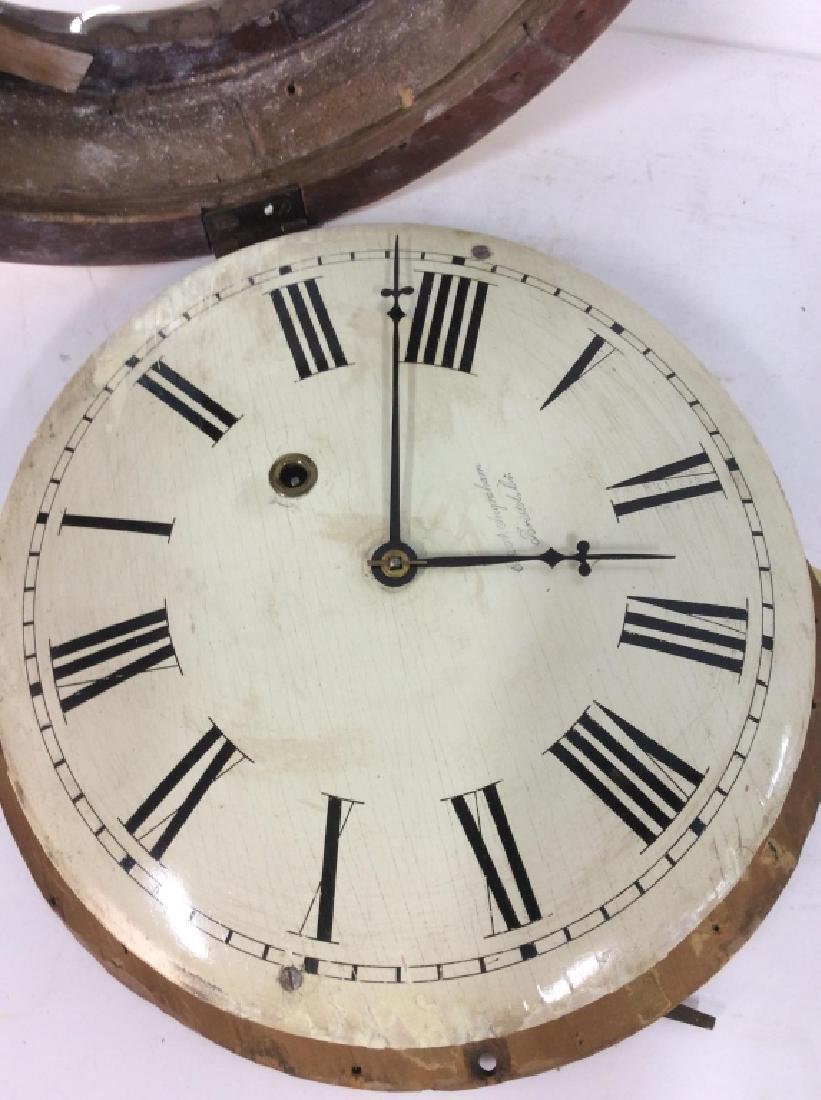Gold Leafed E & A INGRAHAM BRISTOL Ltd Clock - 3