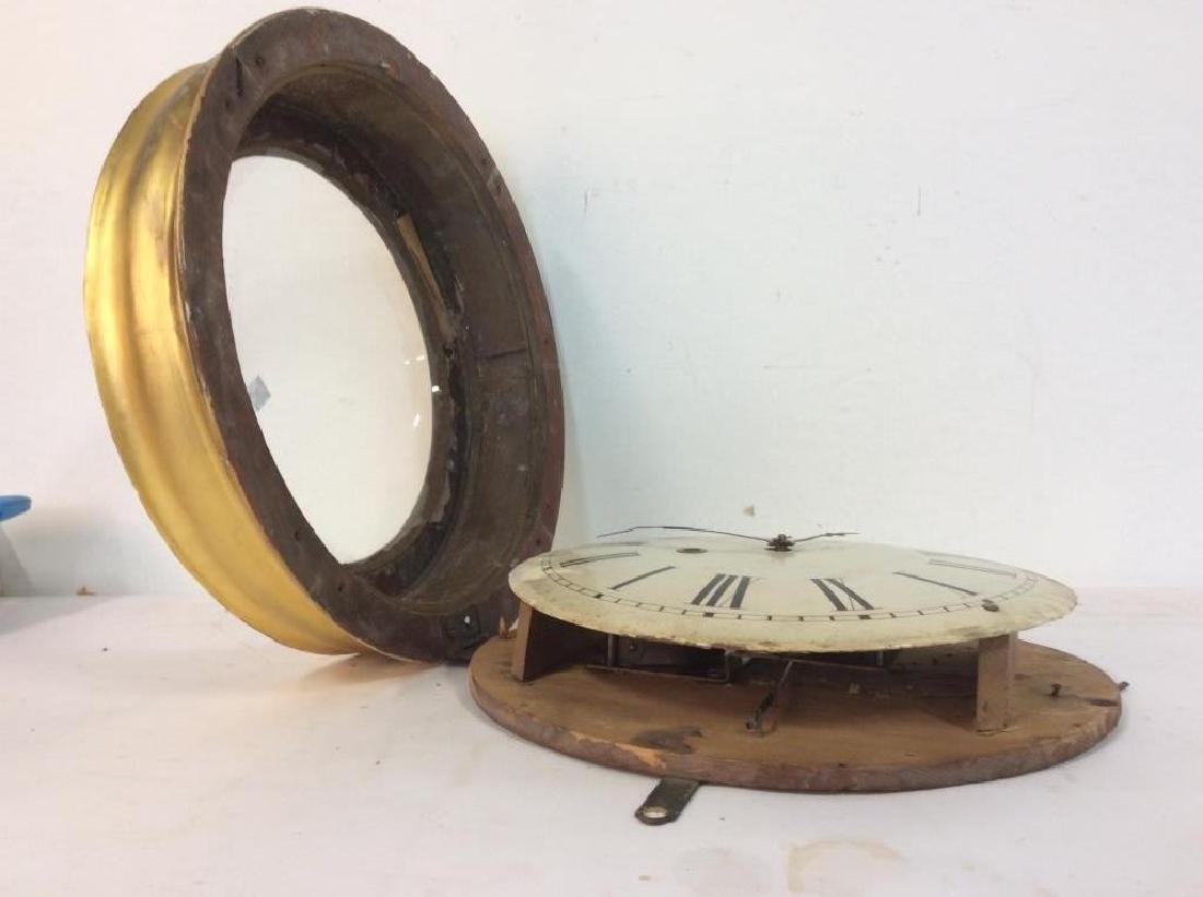 Gold Leafed E & A INGRAHAM BRISTOL Ltd Clock - 6