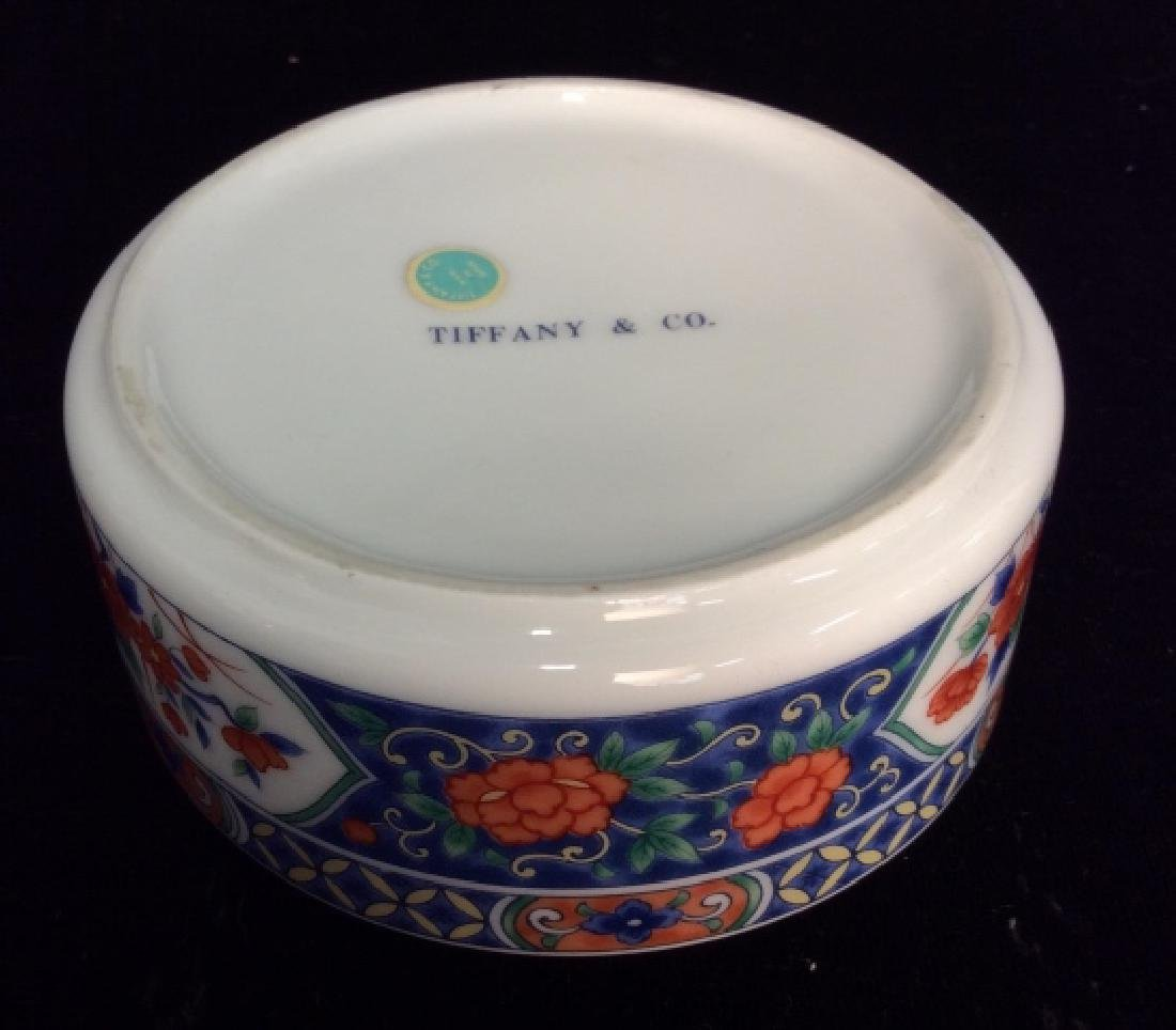 TIFFANY&CO Lidded Porcelain Trinket Dish - 5