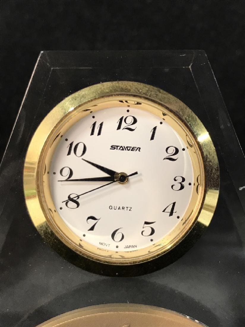 Judaica STAIGER Desk Clock - 5