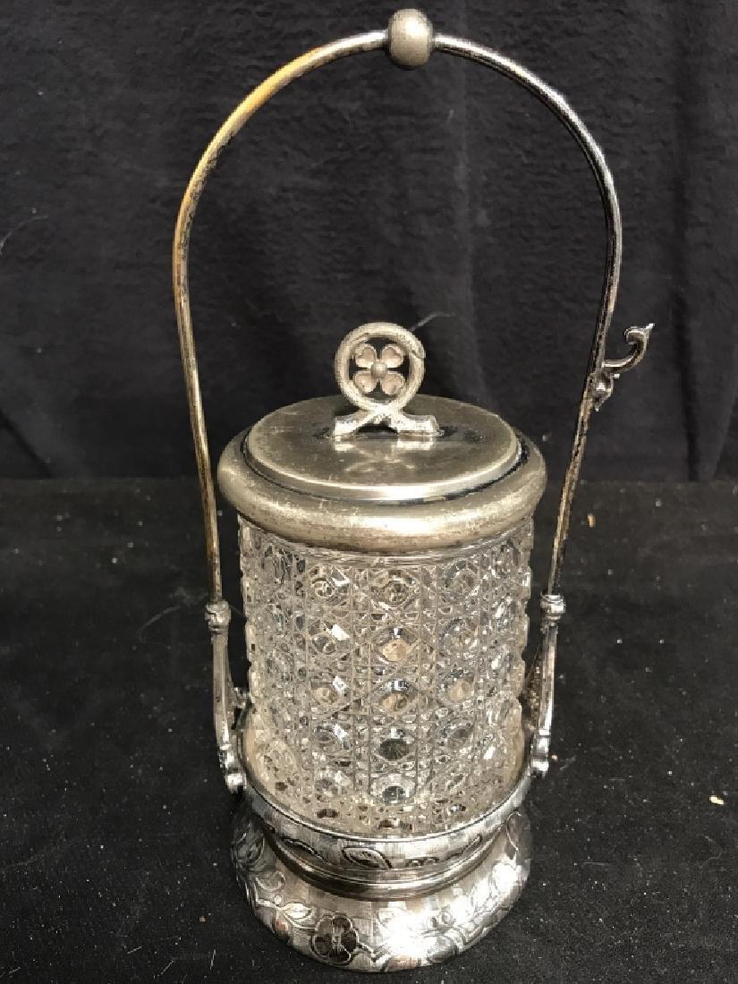 RODGERS & BRO Triple Plate & Glass Jar
