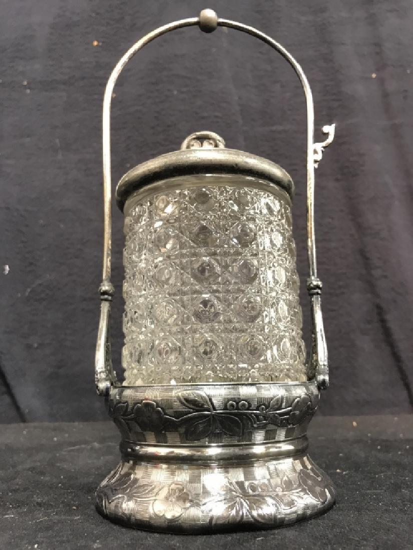 RODGERS & BRO Triple Plate & Glass Jar - 3