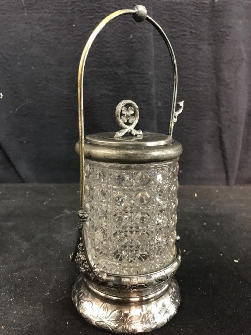 RODGERS & BRO Triple Plate & Glass Jar - 4