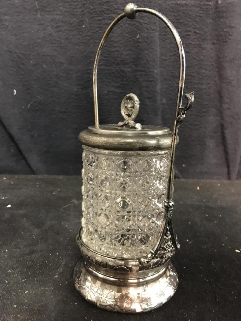 RODGERS & BRO Triple Plate & Glass Jar - 5