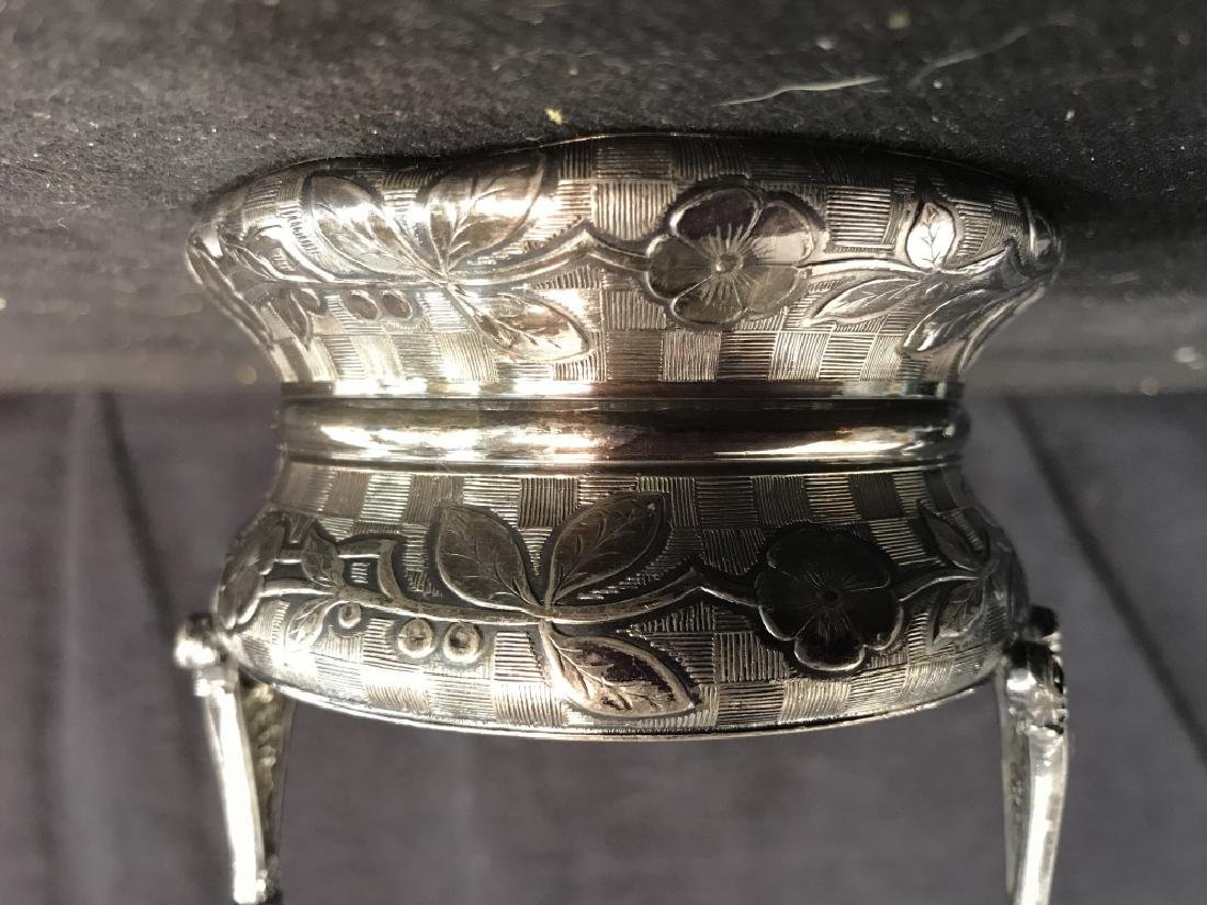 RODGERS & BRO Triple Plate & Glass Jar - 8
