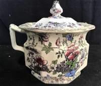 BRUNSWICK Ceramic Porcelain Floral Detailed Jar