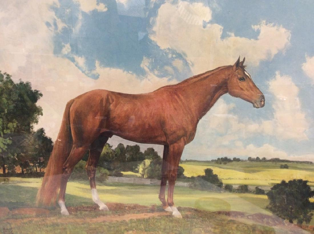 'Whirlaway' Robert Annick Reproduction Print