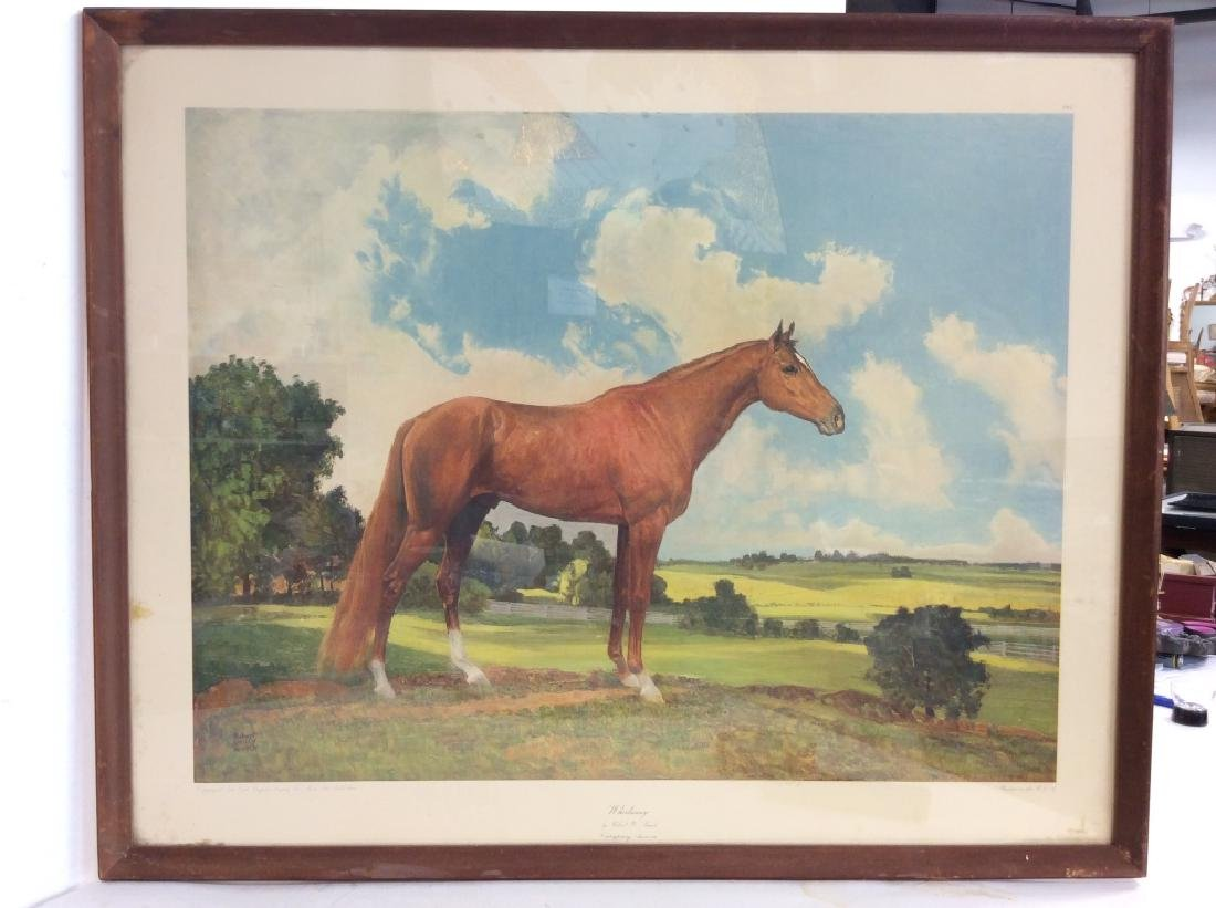 'Whirlaway' Robert Annick Reproduction Print - 2