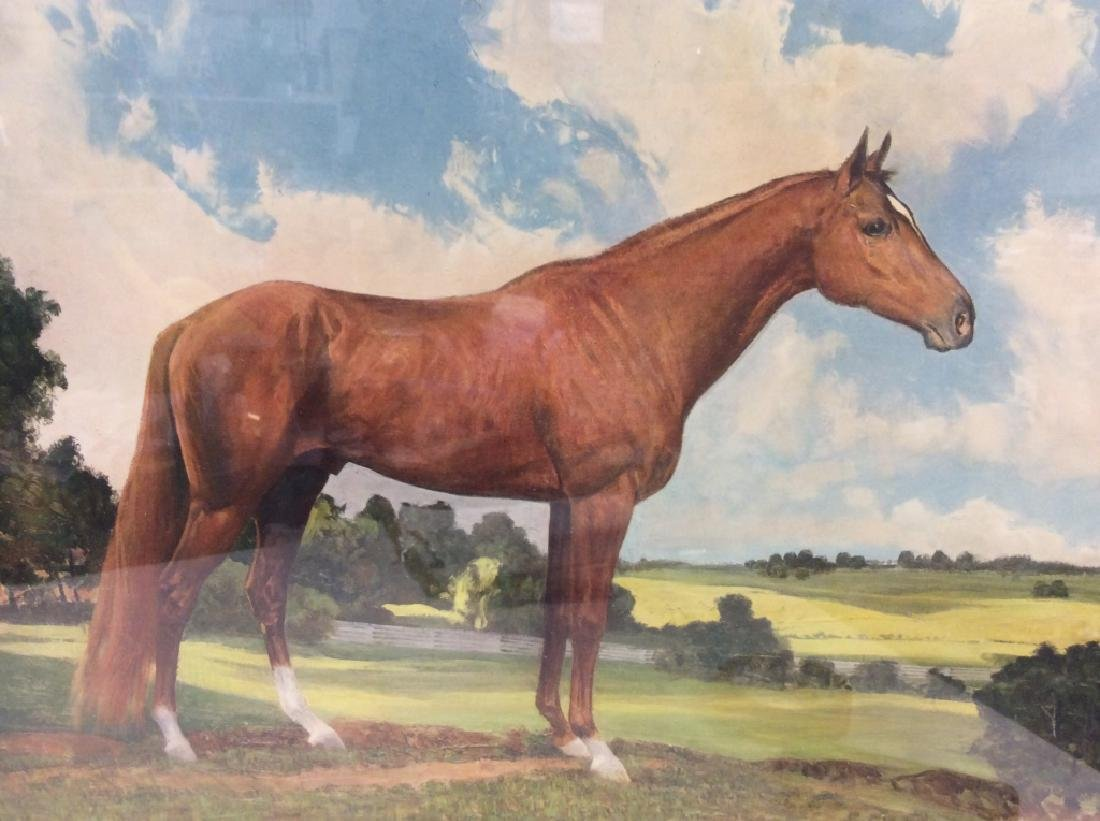 'Whirlaway' Robert Annick Reproduction Print - 3