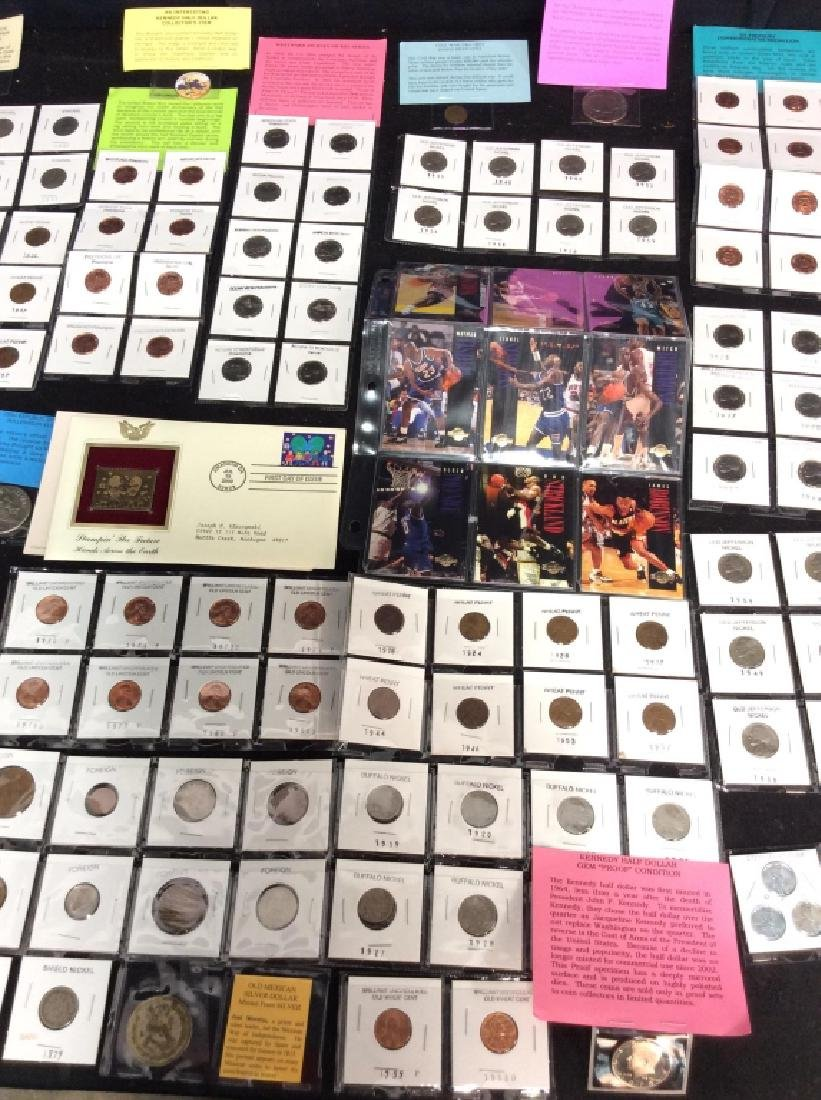 Group Lot Large Collection of Coins And More