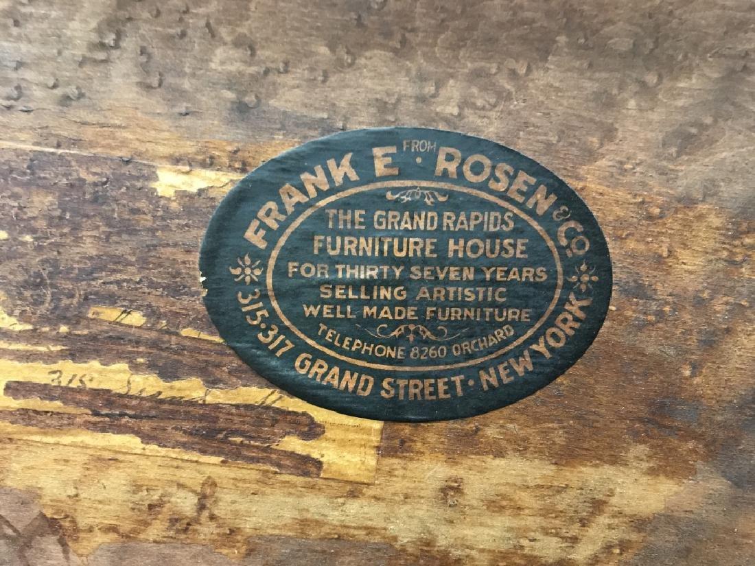 Vintage FRANK E ROSEN & CO Cabinet Chiffonier - 9