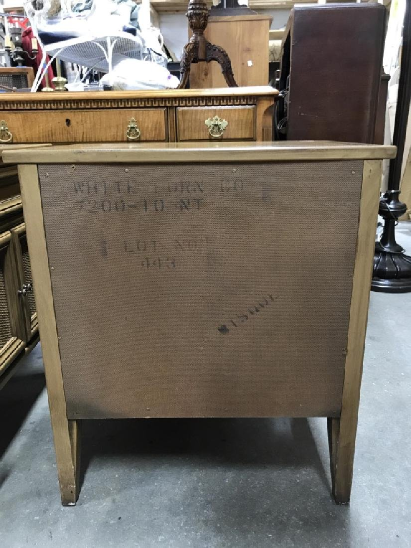 Pair WHITE FURNITURE CO. Wooden End Tables - 10