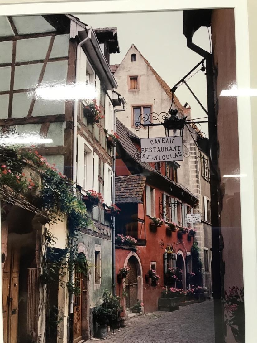 Le Gaveau Restaurant Photograph Lithograph, France