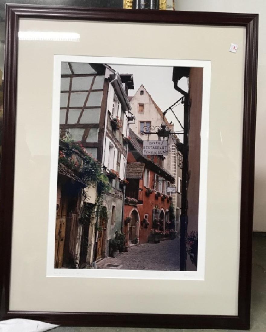 Le Gaveau Restaurant Photograph Lithograph, France - 2