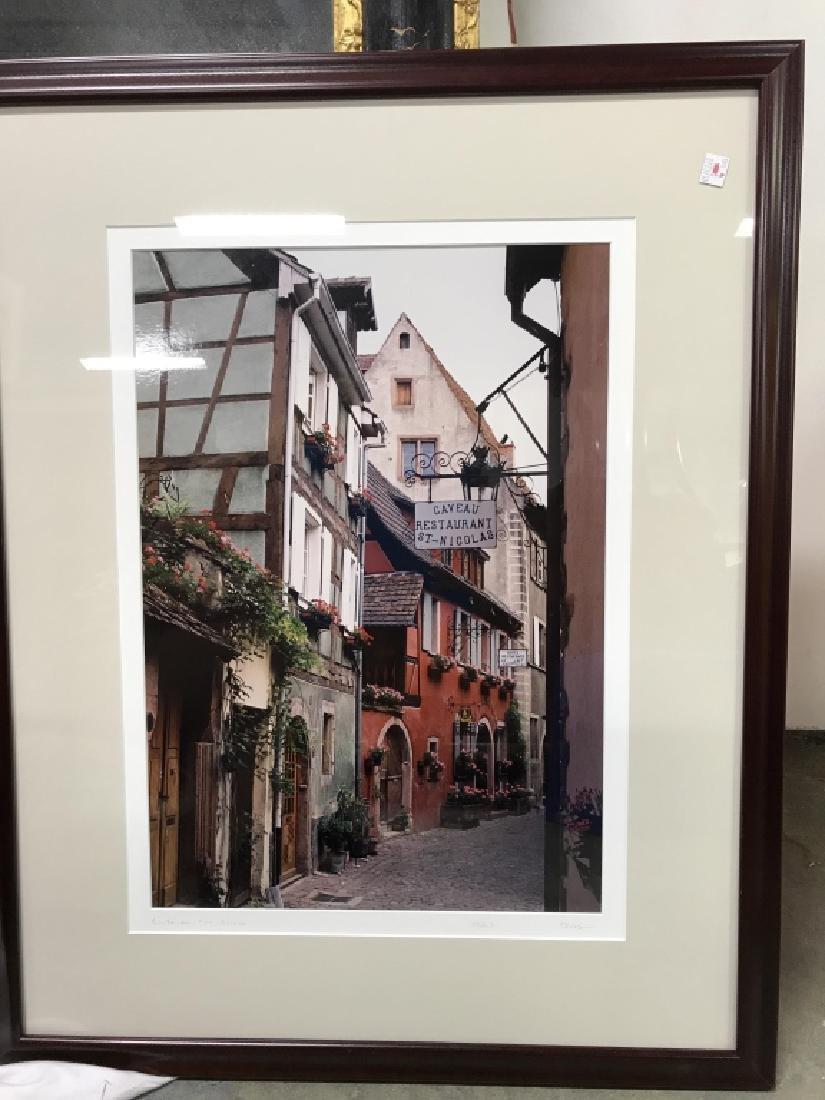 Le Gaveau Restaurant Photograph Lithograph, France - 3