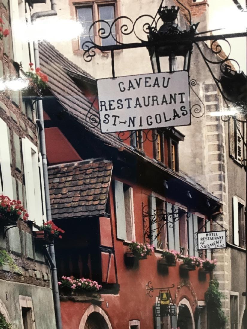 Le Gaveau Restaurant Photograph Lithograph, France - 4