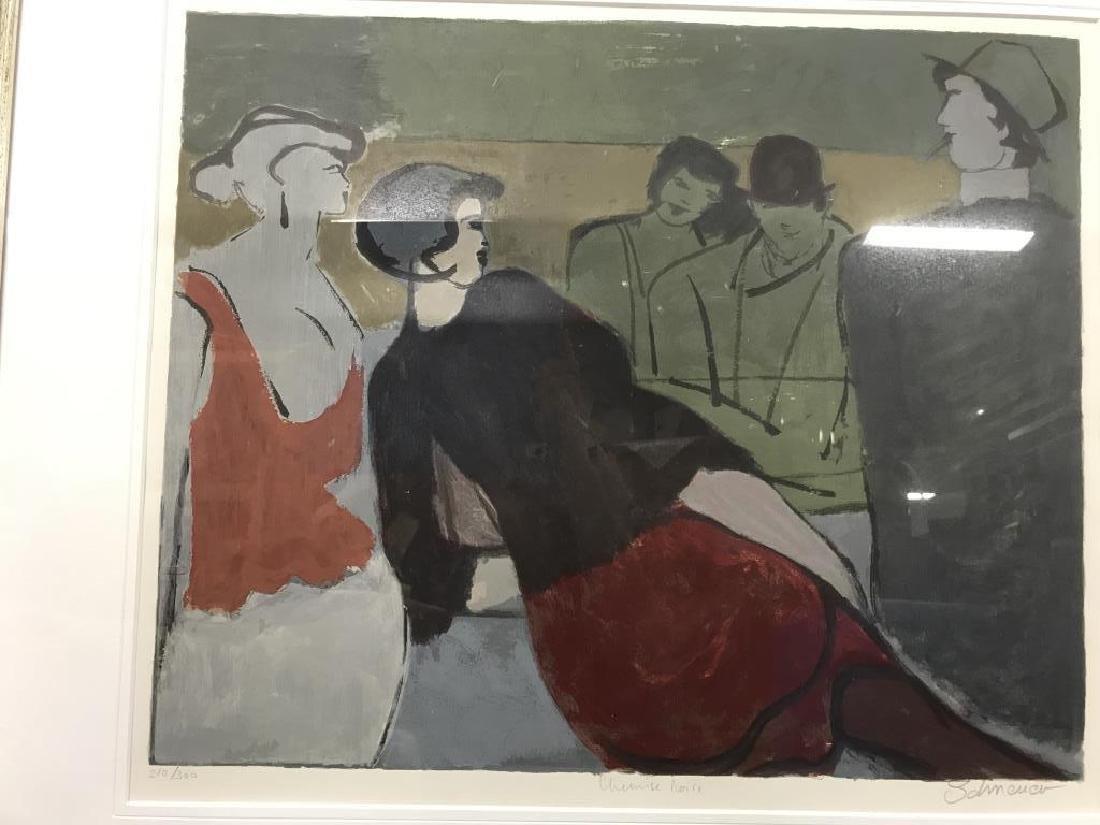 Signed Number Figural Contemporary Artwork France - 5