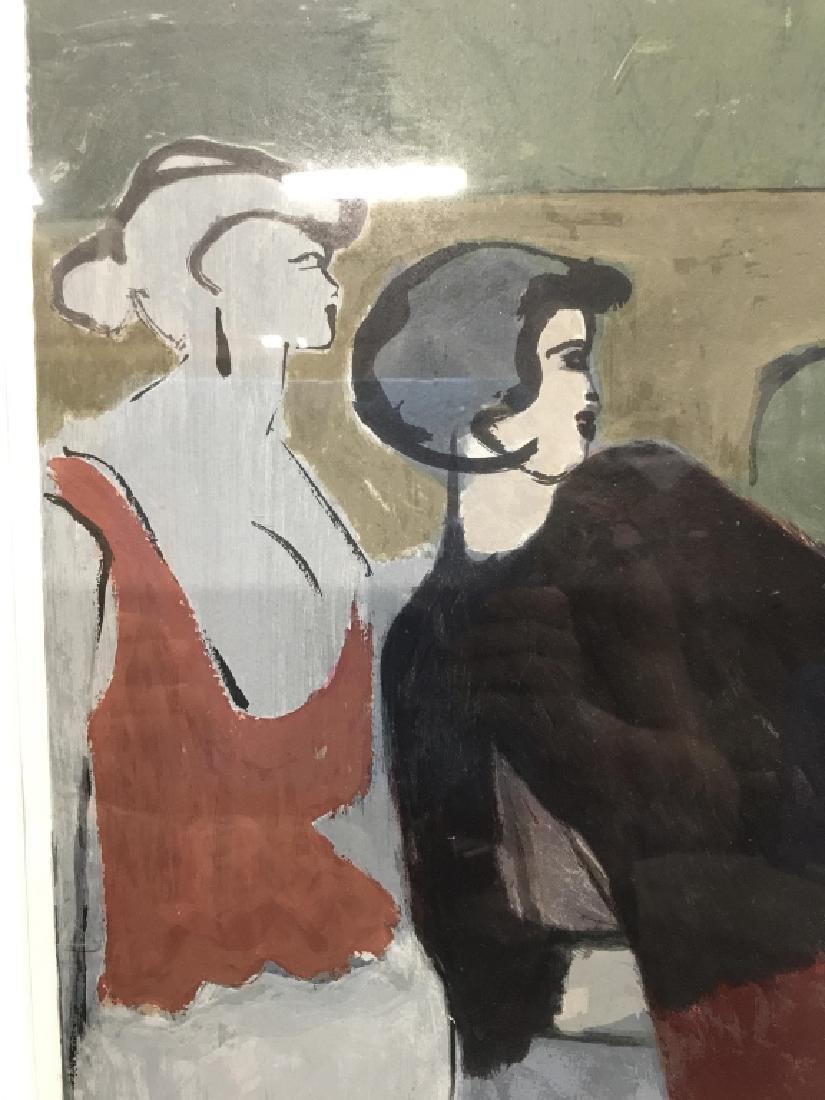 Signed Number Figural Contemporary Artwork France - 9
