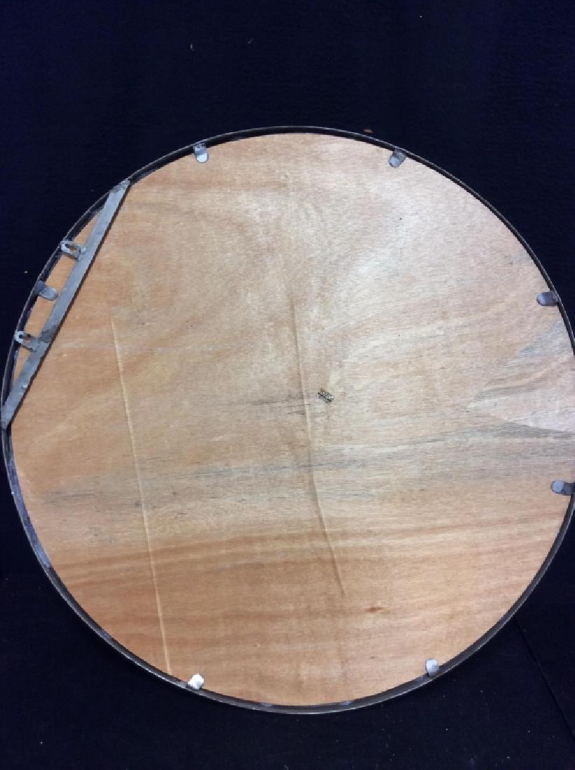 TOZAI Unique Round Metal Mirror - 7