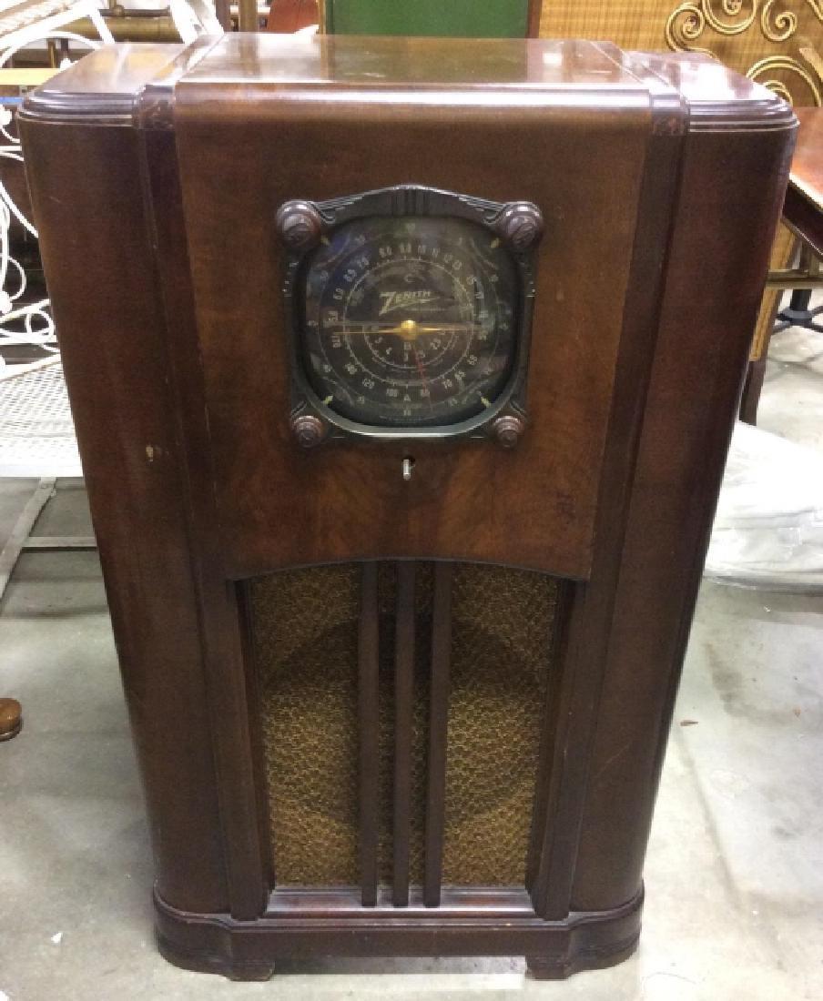Poss Vintage Floor Sized ZENITH Radio