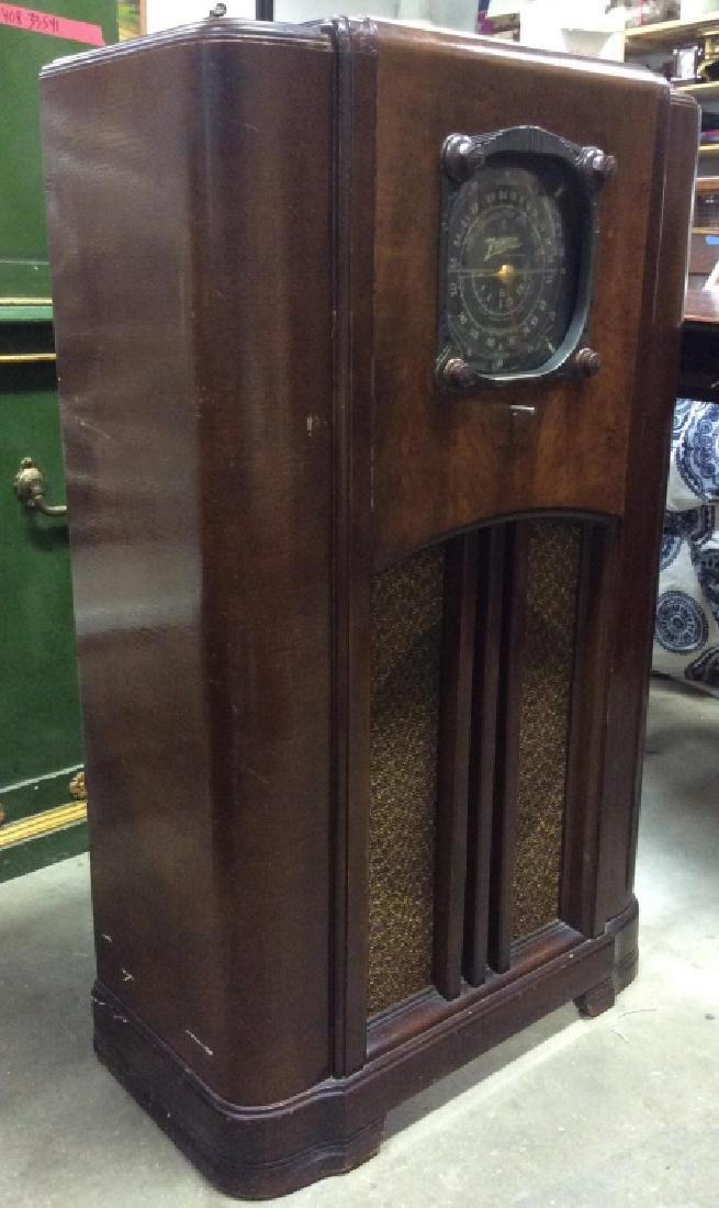 Poss Vintage Floor Sized ZENITH Radio - 3