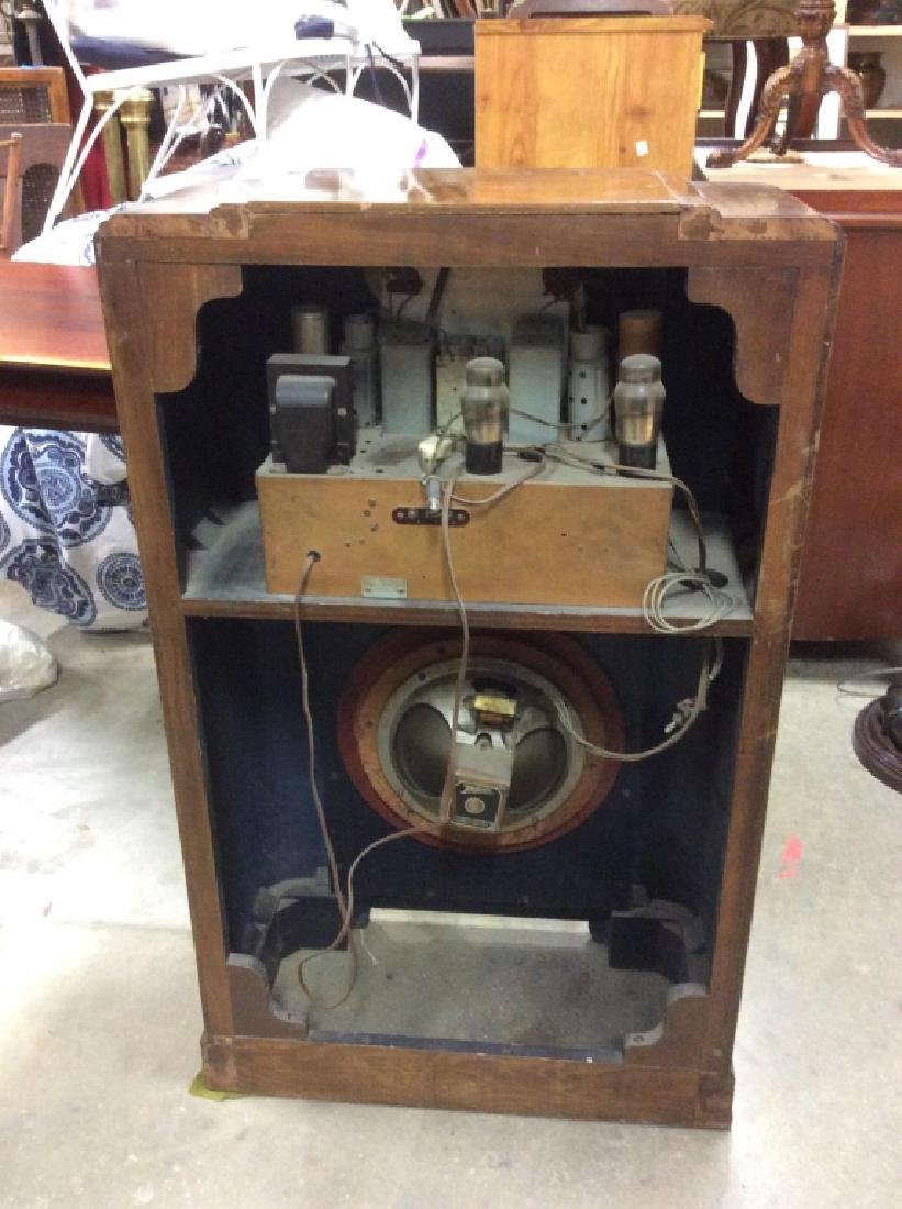 Poss Vintage Floor Sized ZENITH Radio - 5