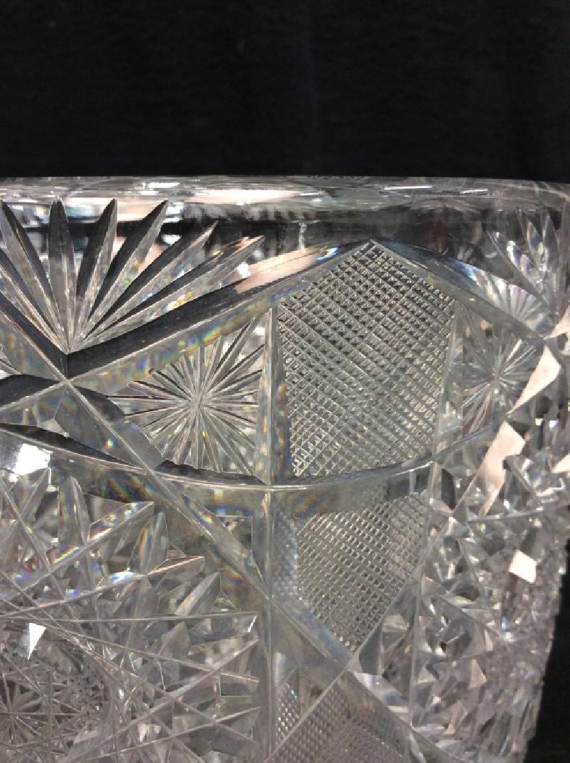 Brilliant Cut Crystal Ice Bucket - 2