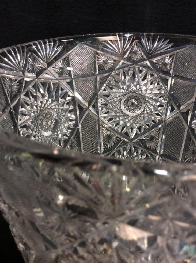 Brilliant Cut Crystal Ice Bucket - 3