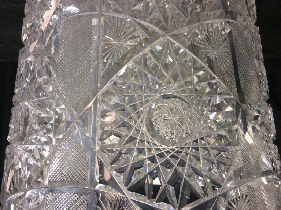 Brilliant Cut Crystal Ice Bucket - 4