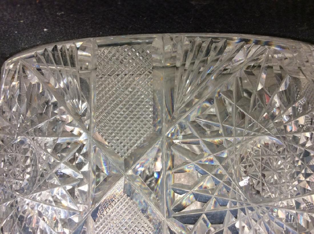 Brilliant Cut Crystal Ice Bucket - 5
