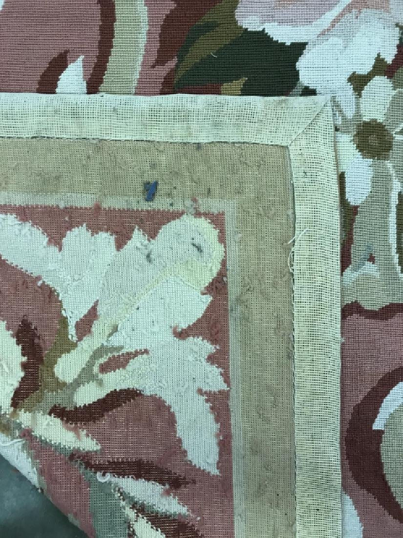 Room Sized Hand Woven French Aubusson Carpet. - 6