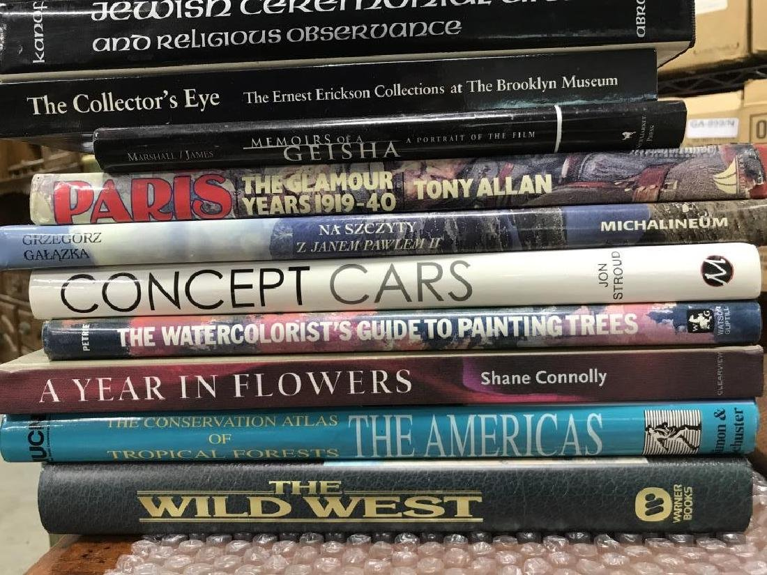 Group Lot Art Coffee Table Books More - 2