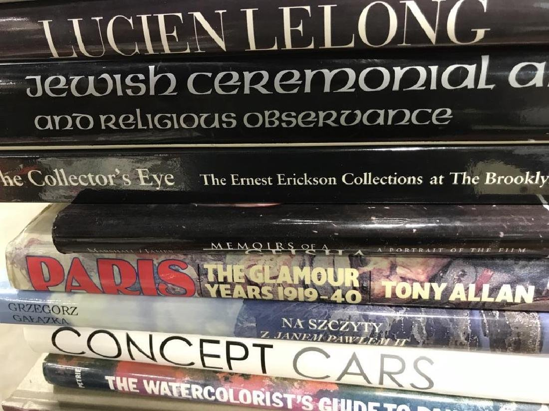 Group Lot Art Coffee Table Books More - 6