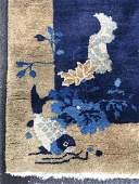 Handmade Chinese Art Deco Wool Rug