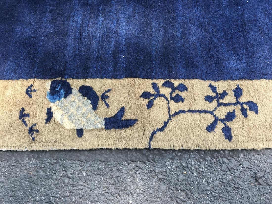 Handmade Chinese Art Deco Wool Rug - 6