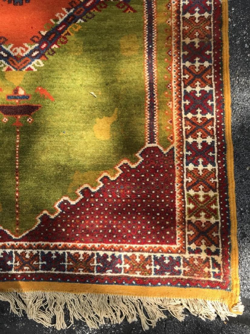Handmade Vintage COURANTE Moroccan Wool Rug - 5
