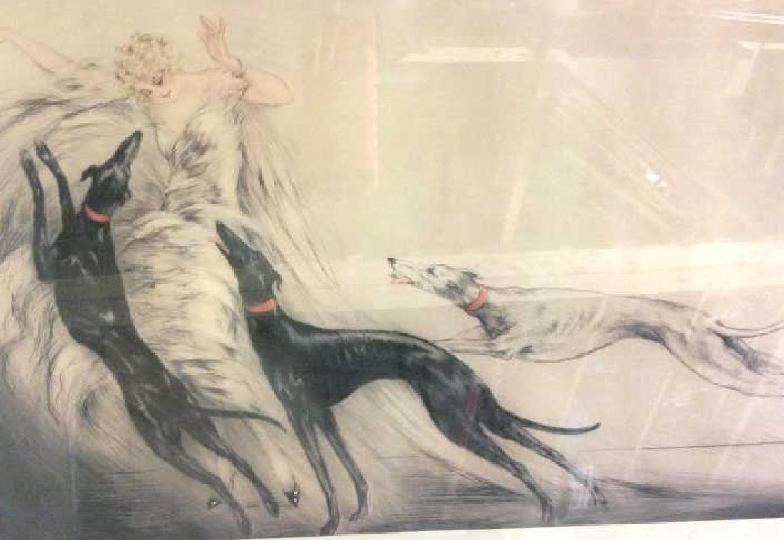 Art Print Repro Of Louis Icart Etching