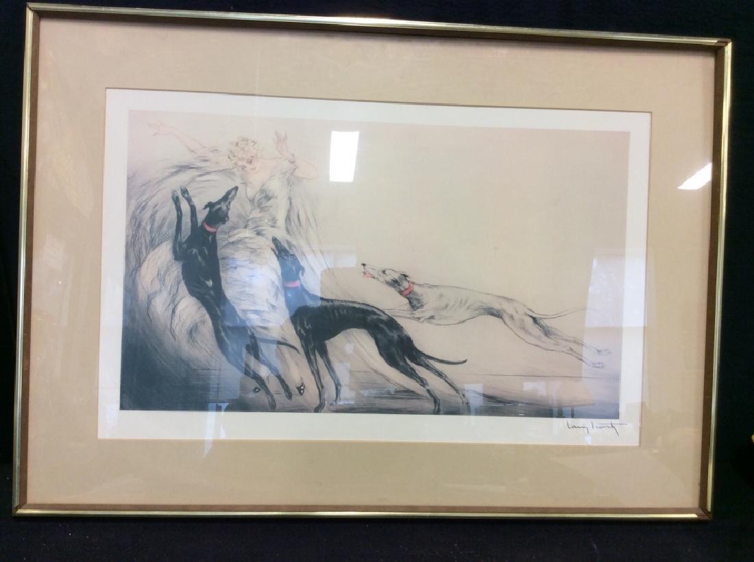 Art Print Repro Of Louis Icart Etching - 2