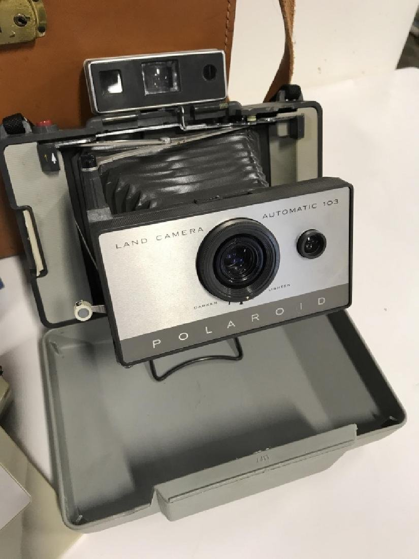 Vintage Polaroid 103 Land Camera And Accessories - 2