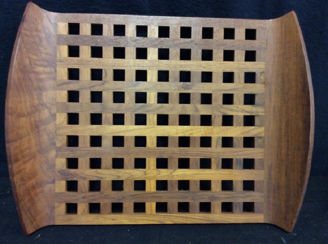 IHQ JENS QUISTGAARD Teak Wood Danish Tray