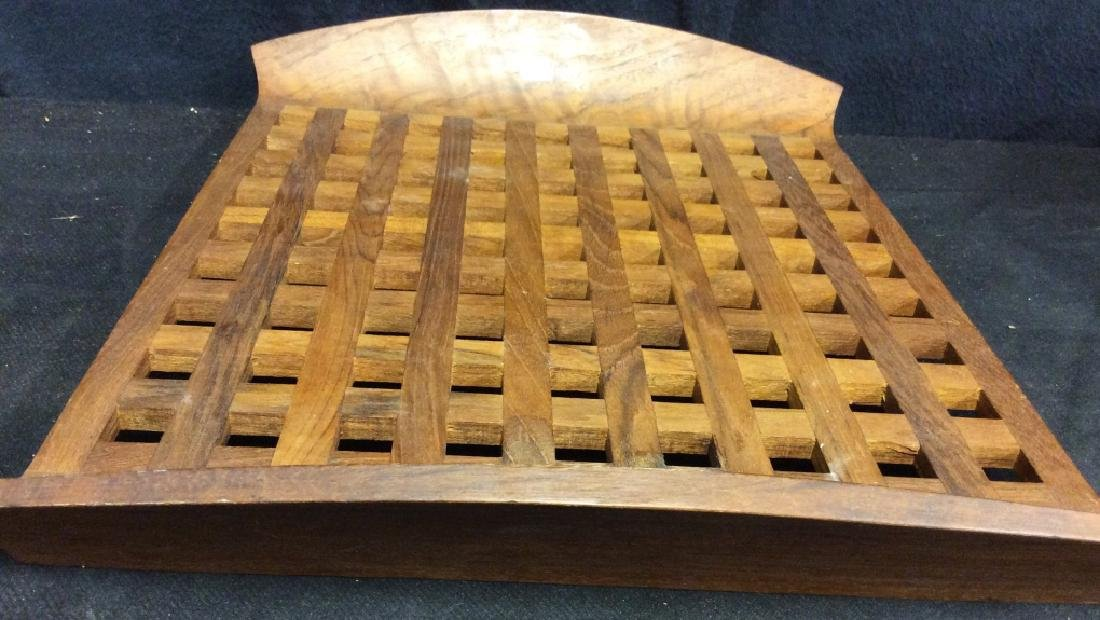 IHQ JENS QUISTGAARD Teak Wood Danish Tray - 4
