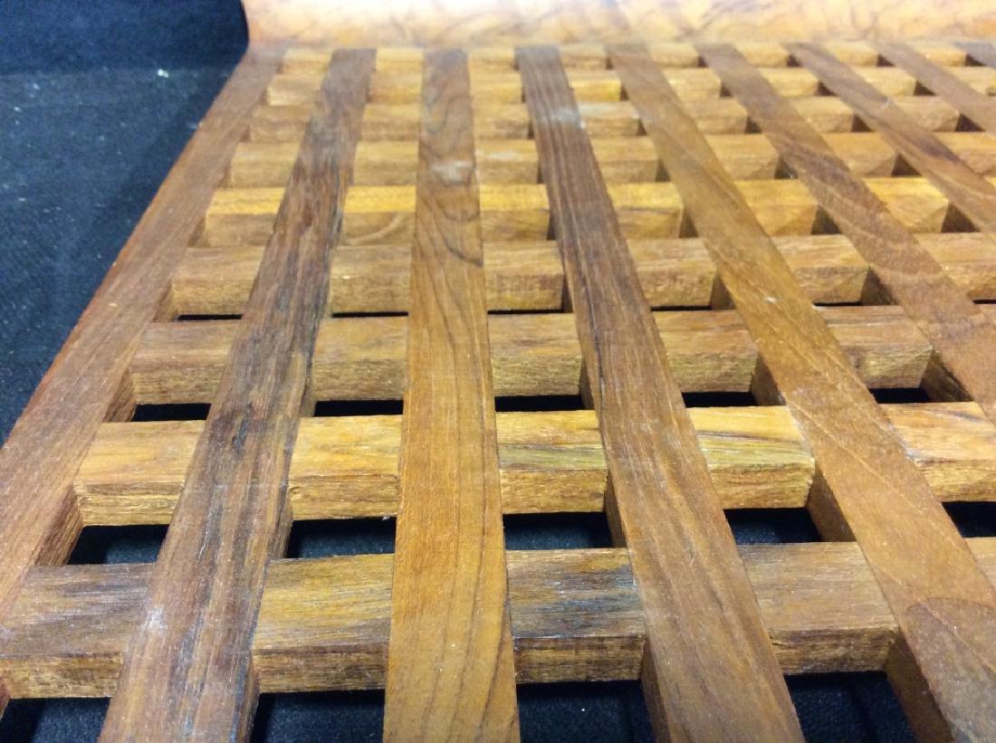 IHQ JENS QUISTGAARD Teak Wood Danish Tray - 5