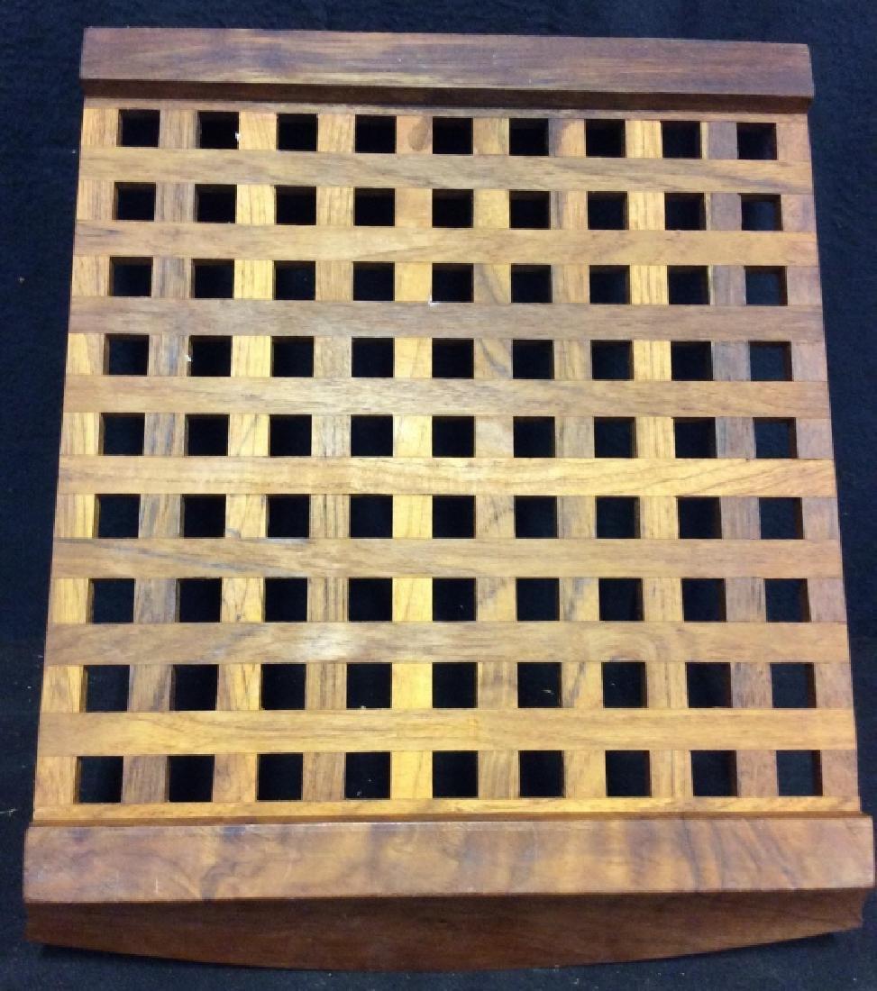 IHQ JENS QUISTGAARD Teak Wood Danish Tray - 6