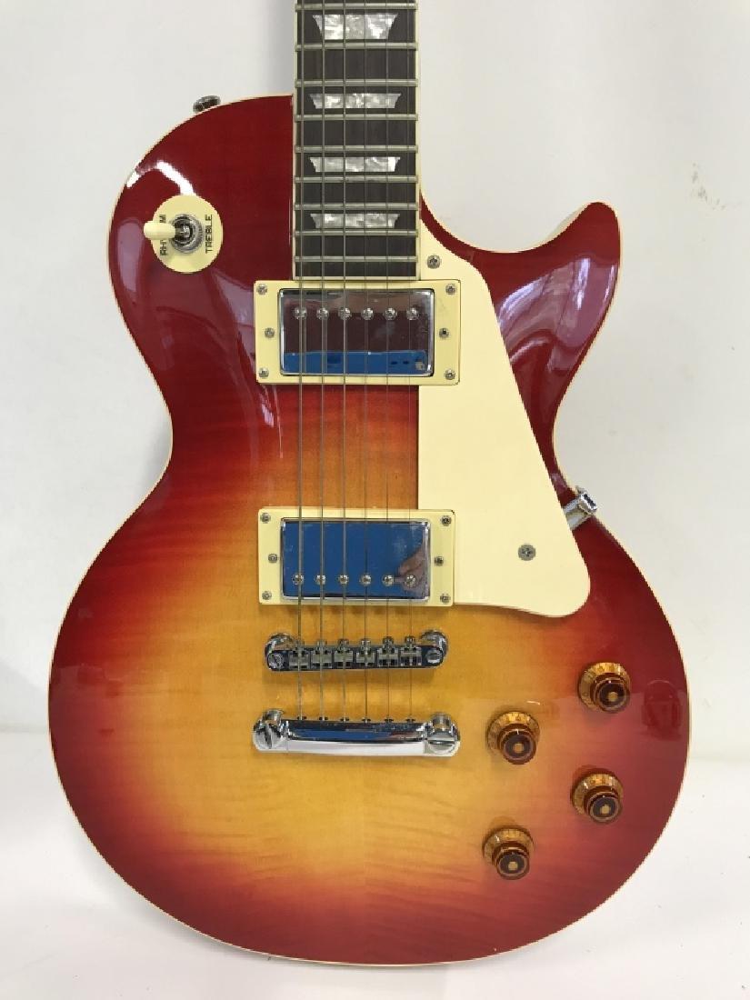 Les Paul Standard Guitar In Cherry Sunburst