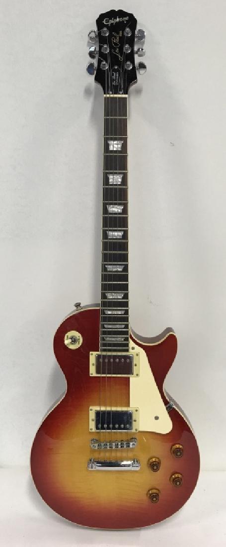 Les Paul Standard Guitar In Cherry Sunburst - 2