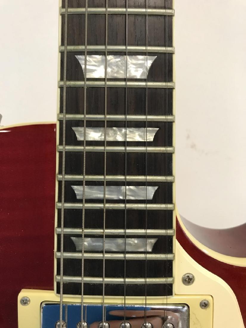 Les Paul Standard Guitar In Cherry Sunburst - 6